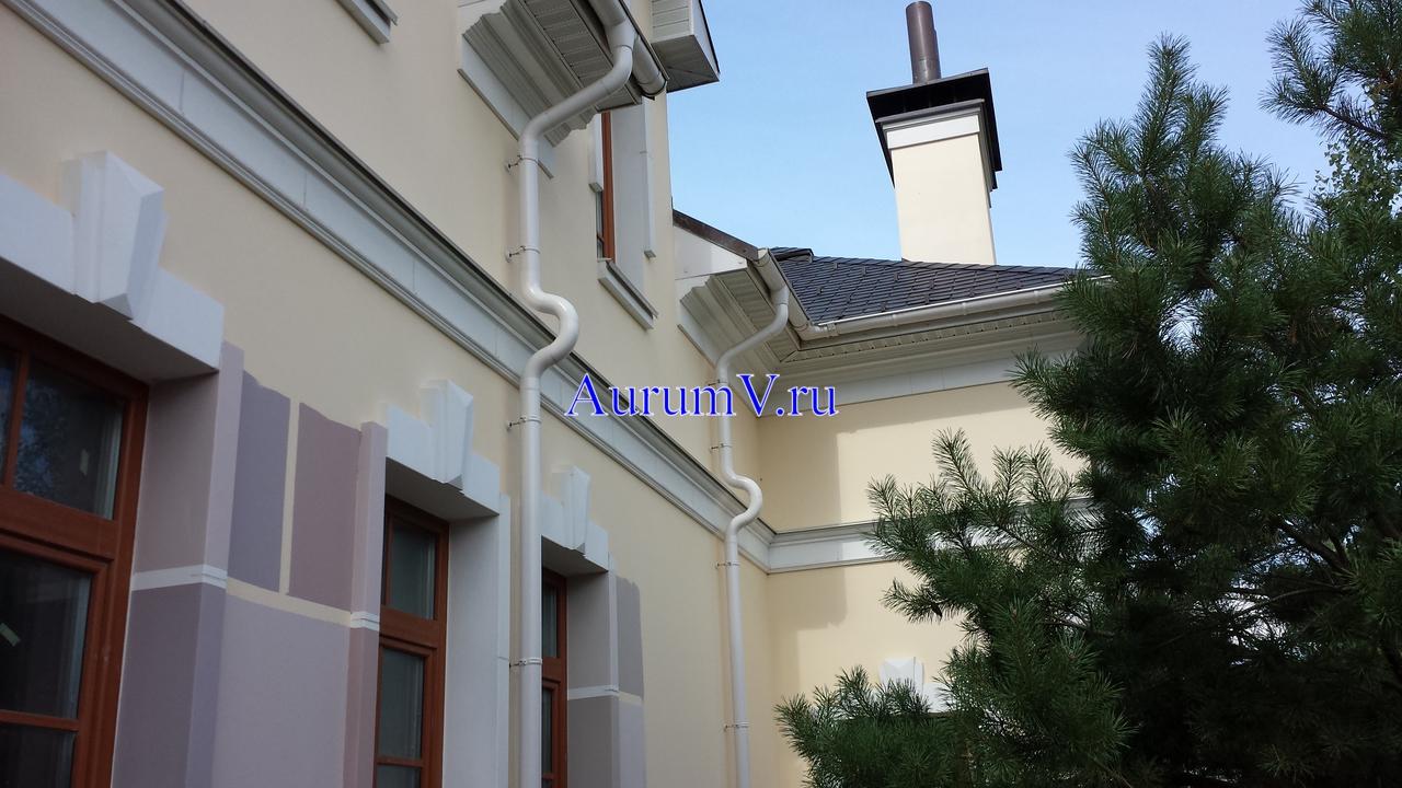 Отделка фасадов коттеджей